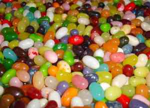 http://commons.wikimedia.org/wiki/File:EndlessSeaOfJellyBeans.jpg