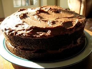 chocolate dump it cake