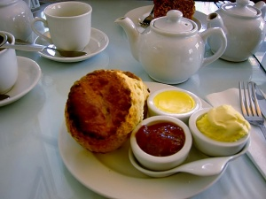 Brighton cream tea
