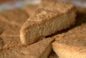 shortbread wedges